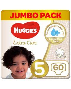 Huggies Extra Care 5 jumbo 60 Diapers